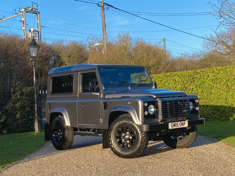 used Land Rover Defender 90 2.2 TDCI XS STATION WAGON JUST 7,000 MILES 1 OWNER PREMIUM SEATS! in chelmsford-essex