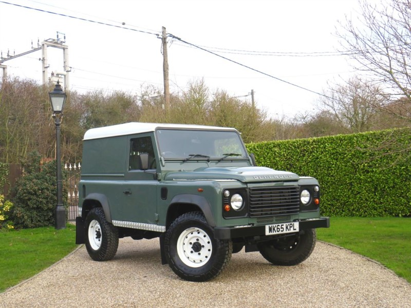 used Land Rover Defender 90 2.2 TDCI HARD TOP JUST 12,000 MILES! FULL LR SERVICE HISTORY in chelmsford-essex