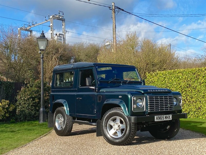 used Land Rover Defender 90 2.2 TDCI XS STATION WAGON JUST 8,000 MILES! PREMIUM FULL LEATHER SEATS! in chelmsford-essex