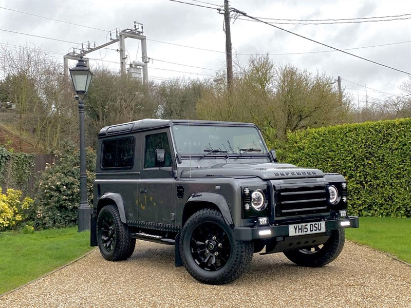 used Land Rover Defender 90 2.2 TDCI XS STATION WAGON JE AUTOMATIC CONVERSION! HUGE SPECIFICATION! in chelmsford-essex