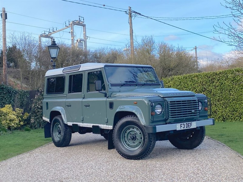 used Land Rover Defender 110 2.2 TDCI STATION WAGON 'HERITAGE STYLE' GREAT SPEC in chelmsford-essex