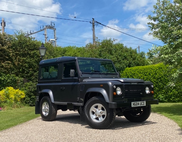 used Land Rover Defender 90 2.5 TD5 COUNTY STATION WAGON in chelmsford-essex