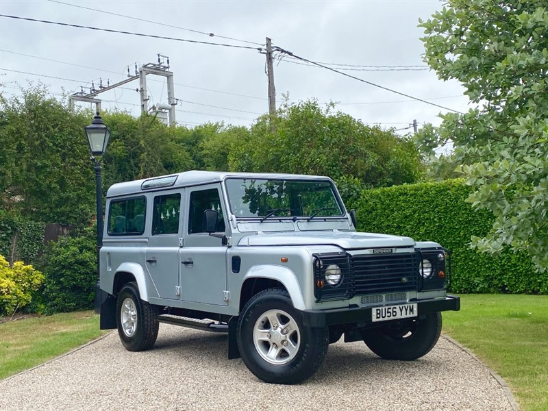 used Land Rover Defender 110 2.5 TD5 COUNTY STATION WAGON in chelmsford-essex