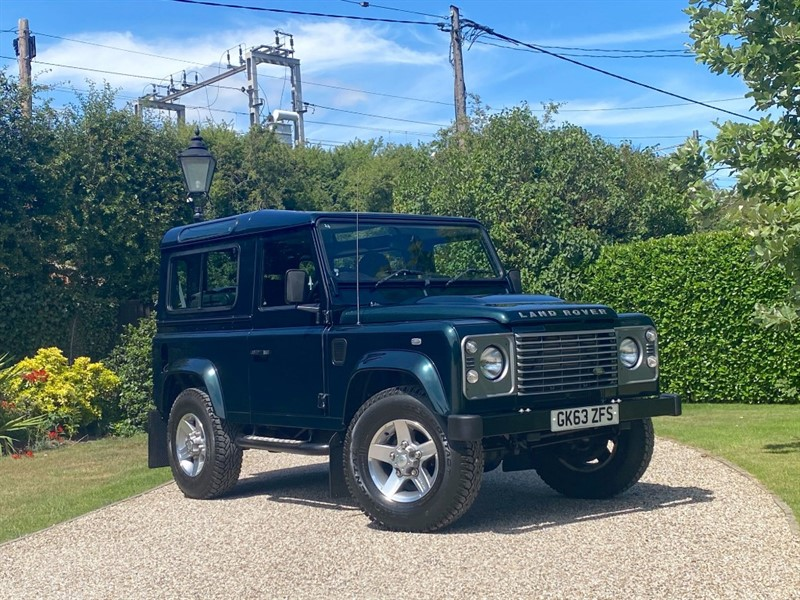 used Land Rover Defender 90 2.2 TDCI COUNTY STATION WAGON in chelmsford-essex