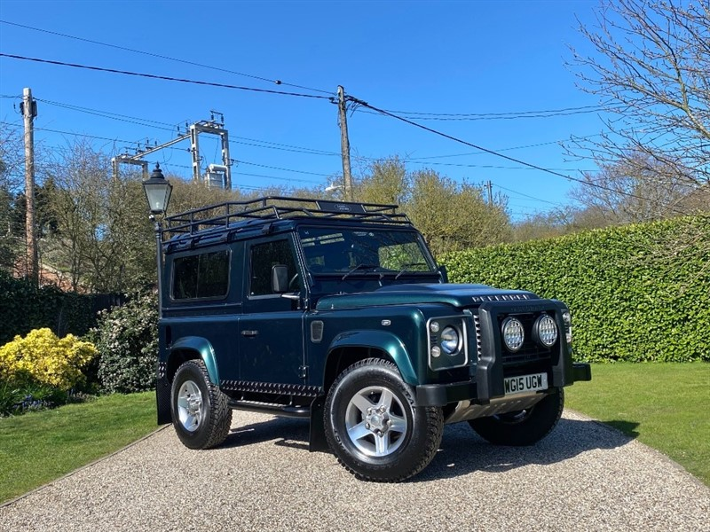 used Land Rover Defender 90 2.2 TDCI XS STATION WAGON in chelmsford-essex