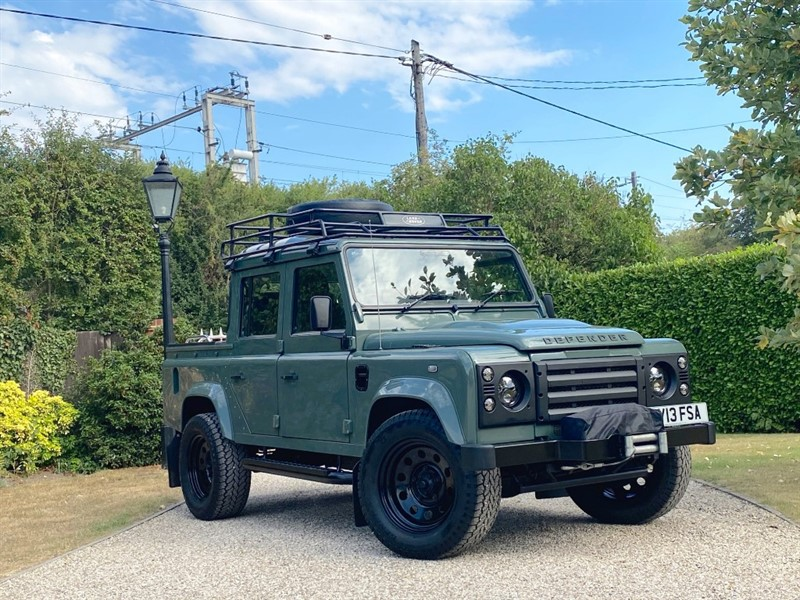 used Land Rover Defender 110 2.2 TDCI COUNTY DOUBLE CAB PICKUP in chelmsford-essex
