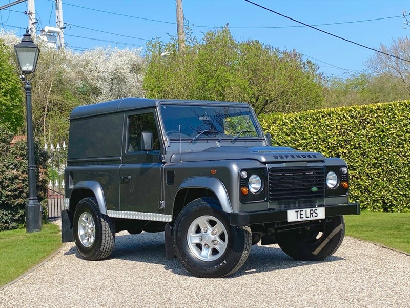 used Land Rover Defender 90 2.4 TDCI HARD TOP in chelmsford-essex