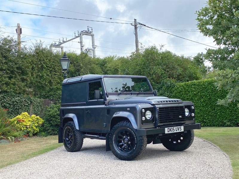 used Land Rover Defender 90 2.2 TDCI HARD TOP XS in chelmsford-essex