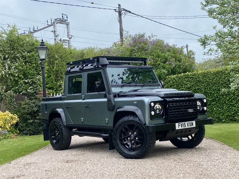used Land Rover Defender 110 2.2 TDCI XS DOUBLE CAB PICKUP in chelmsford-essex