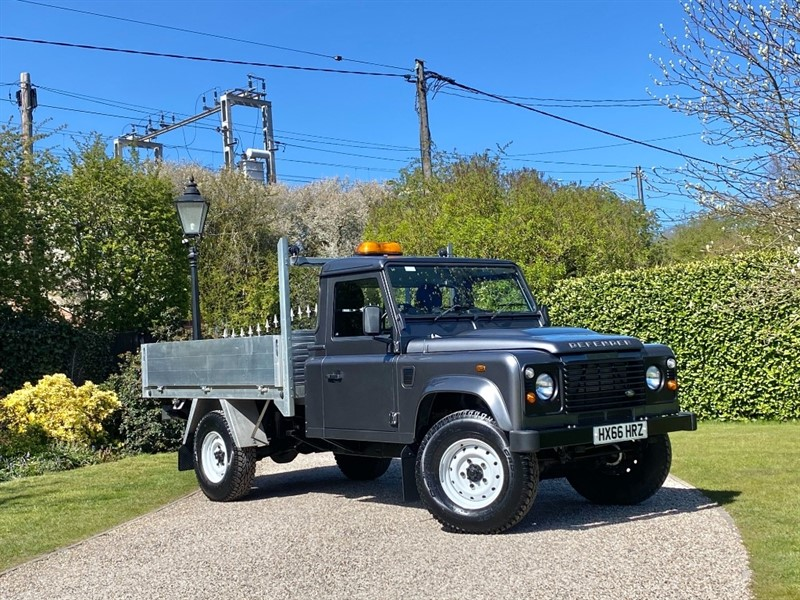 used Land Rover Defender 130 2.2 TDCI SINGLE CAB DROPSIDE in chelmsford-essex
