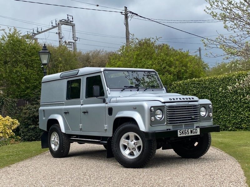 used Land Rover Defender 110 2.2 TDCI COUNTY UTILITY WAGON in chelmsford-essex