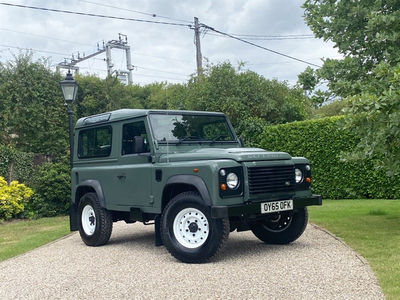 used Land Rover Defender 90 2.2 TDCI STATION WAGON in chelmsford-essex