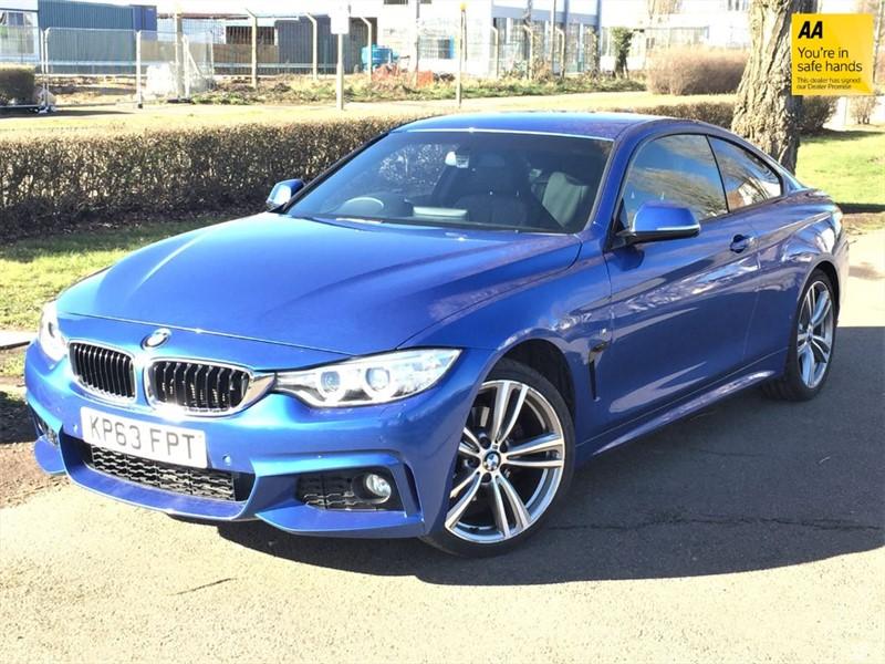 used BMW 420d M SPORT in grays-essex