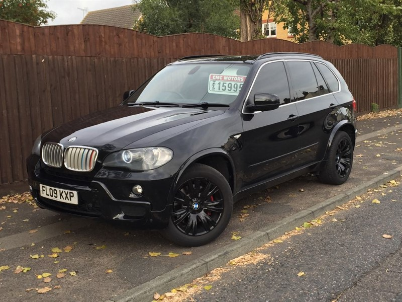 used BMW X5 M 7 seater in grays-essex