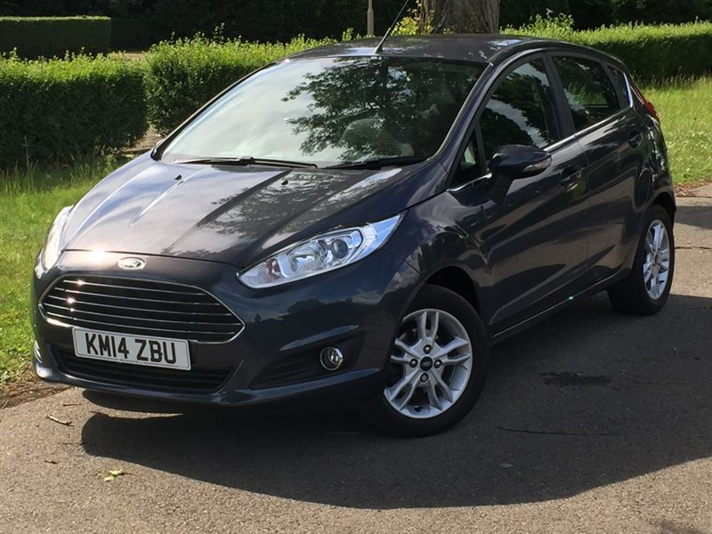 used Ford Fiesta ZETEC in grays-essex