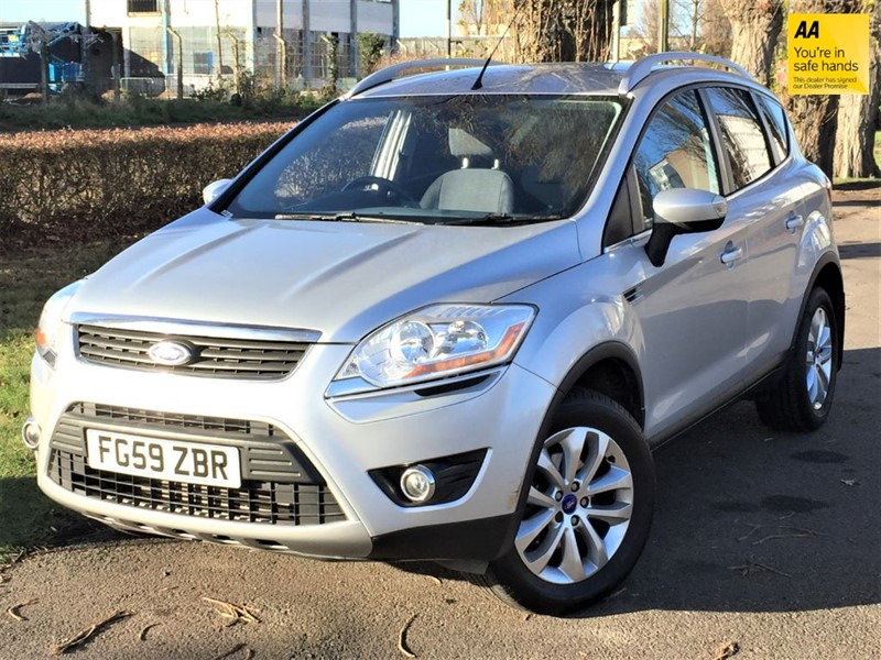 used Ford Kuga TITANIUM TDCI 2WD in grays-essex