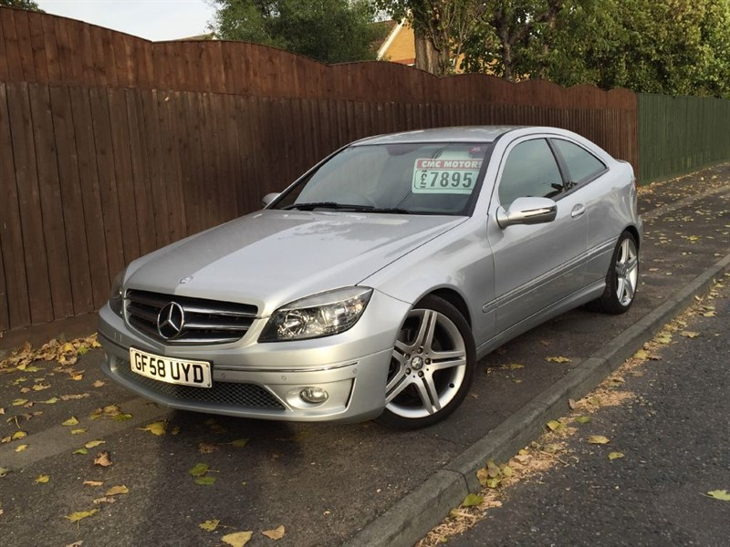used Mercedes CLC220 CDI SPORT in grays-essex