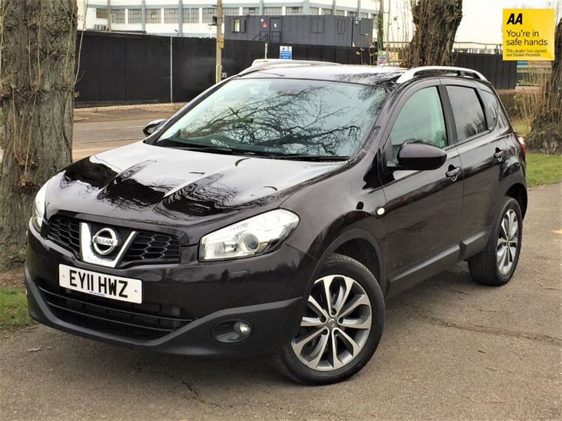 used Nissan Qashqai TEKNA DCI in grays-essex