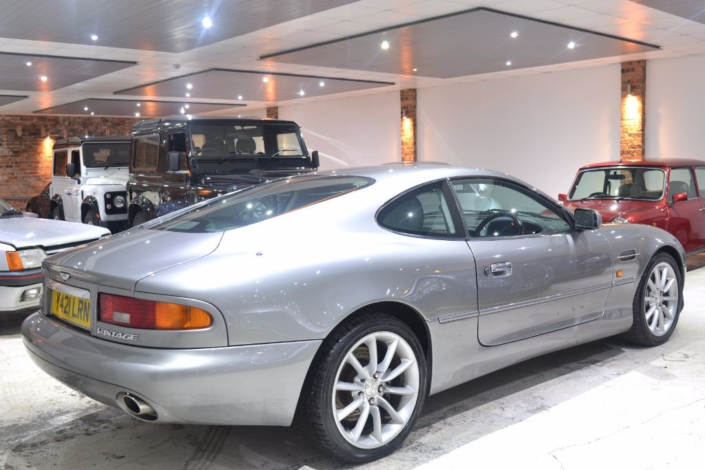 Used Silver Aston Martin DB For Sale Worcestershire - Aston martin db 7 for sale