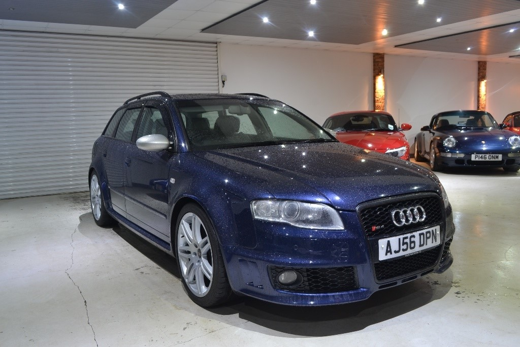 Used Blue Audi RS Avant For Sale Worcestershire - Audi rs4 avant for sale