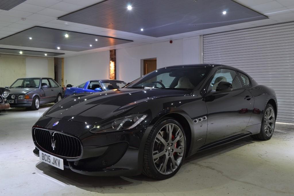 Maserati granturismo black