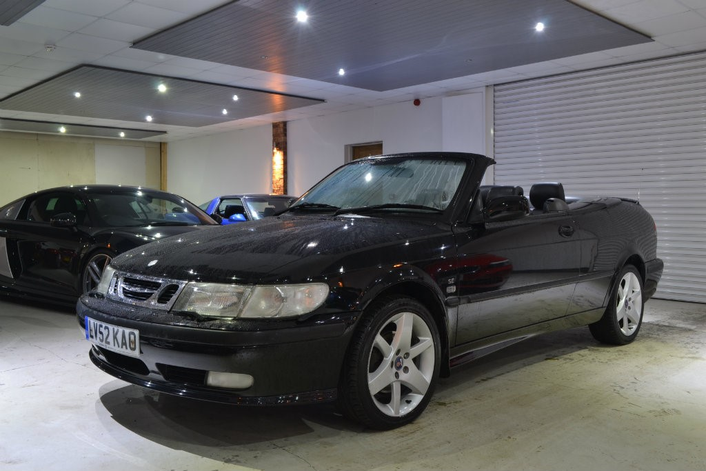 Used Black Saab 9