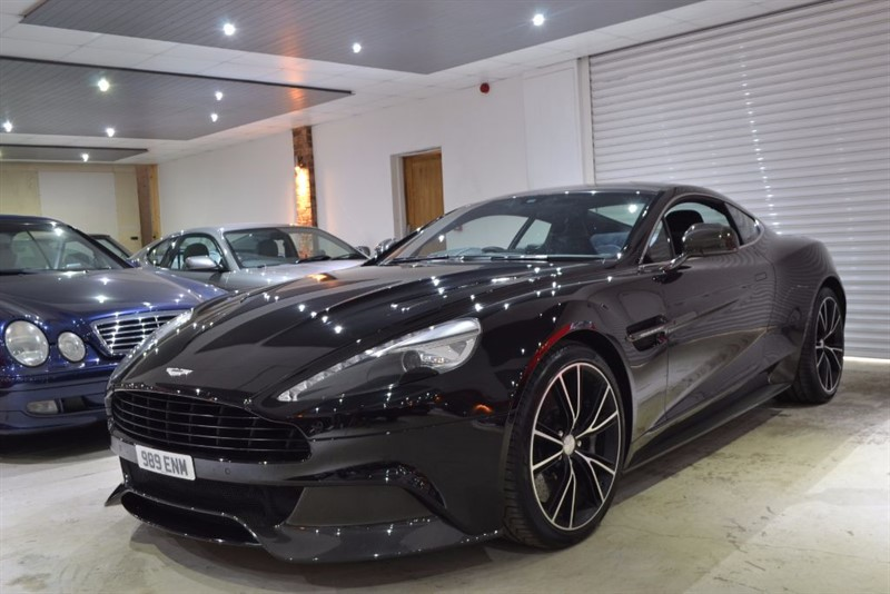 used Aston Martin Vanquish V12 in worcestershire