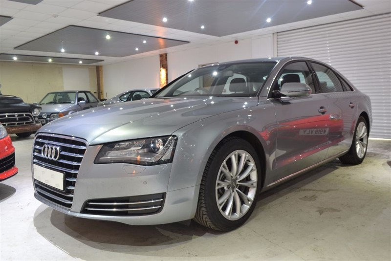 used Audi A8 TDI QUATTRO SE EXECUTIVE in worcestershire