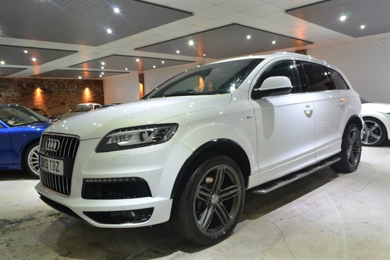 used Audi Q7 TDI S Line Plus Tiptronic Quattro 5dr in worcestershire
