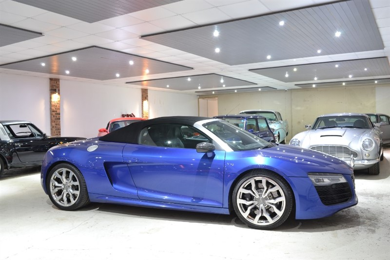 used Audi R8 SPYDER V10 QUATTRO in worcestershire