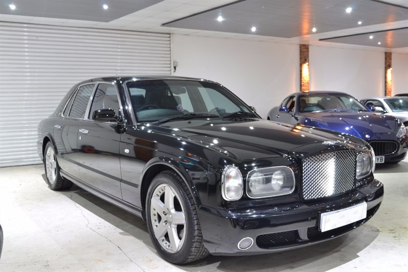 used Bentley Arnage T in worcestershire