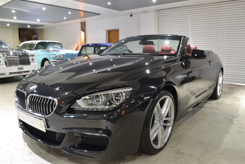 used BMW 640d M SPORT in worcestershire
