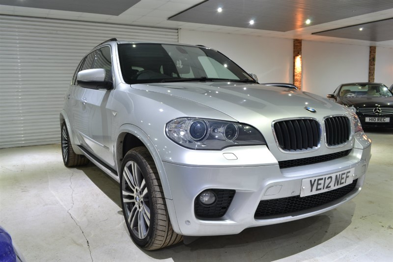 used BMW X5 30d M Sport xDrive 5dr (start/stop) in worcestershire