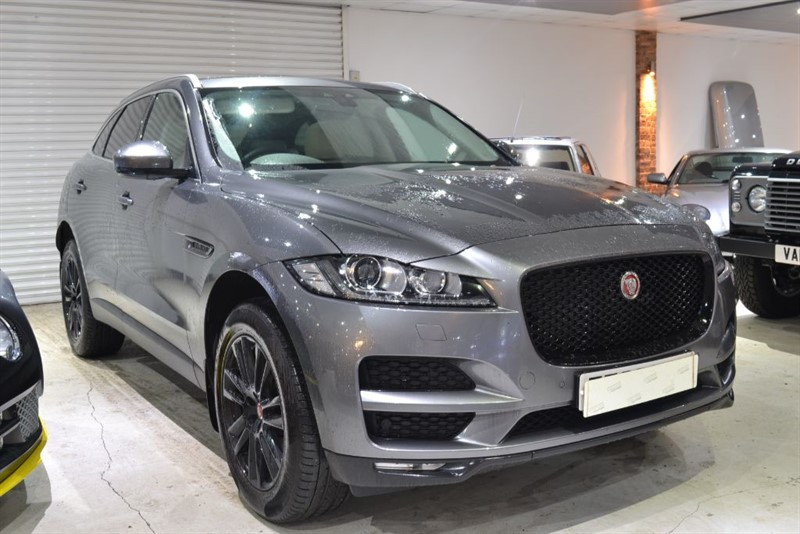used Jaguar F-Pace PORTFOLIO AWD in worcestershire