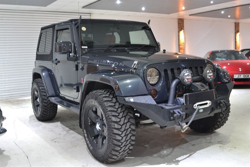 used Jeep Wrangler V6 SAHARA in worcestershire