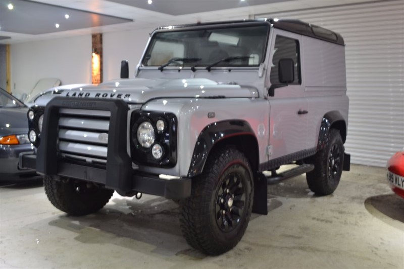 used Land Rover Defender 90 TD X-TECH LE HARD TOP in worcestershire