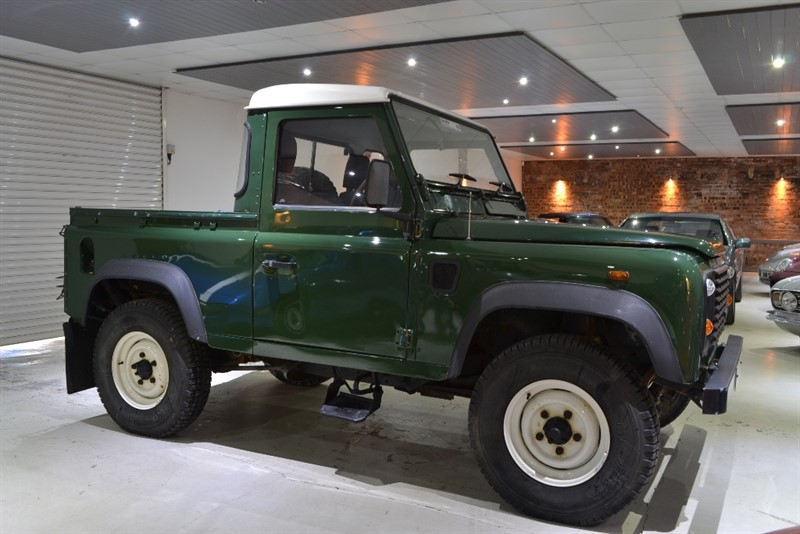 Used Green Land Rover Defender For Sale Worcestershire