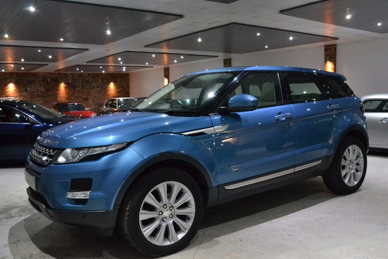 used Land Rover Range Rover Evoque SD4 PRESTIGE LUX in worcestershire