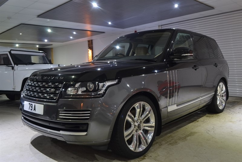 used Land Rover Range Rover TD V6 Vogue 4x4 5dr (start/stop) in worcestershire
