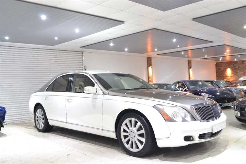 used Maybach 57S MAYBACH V12 in worcestershire