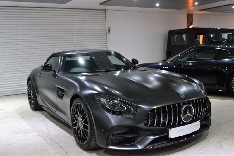 Used Matt Graphite Grey Magno Mercedes AMG GT for Sale ...