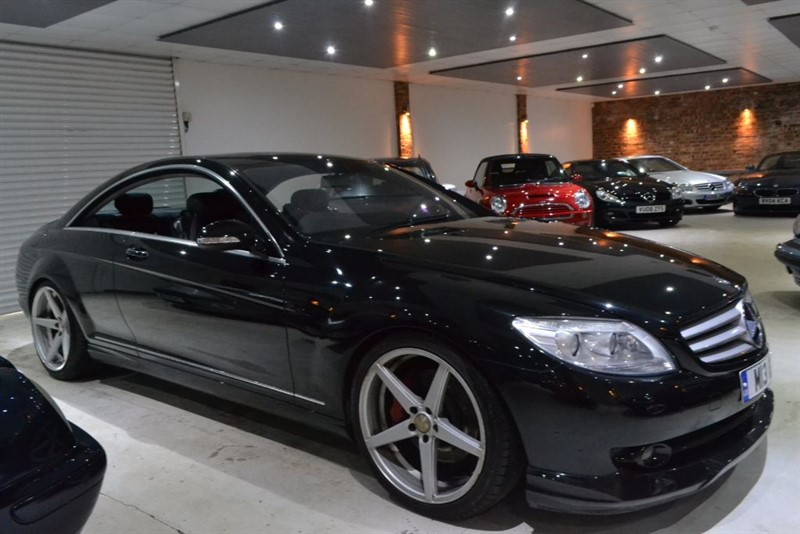 used black mercedes cl500 for sale worcestershire. Black Bedroom Furniture Sets. Home Design Ideas