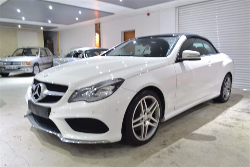 used Mercedes E250 CDI AMG SPORT in worcestershire
