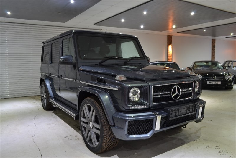 used Mercedes G Class G63 AMG 4x4 5dr in worcestershire