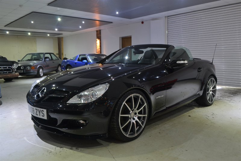 used black mercedes slk for sale worcestershire. Black Bedroom Furniture Sets. Home Design Ideas