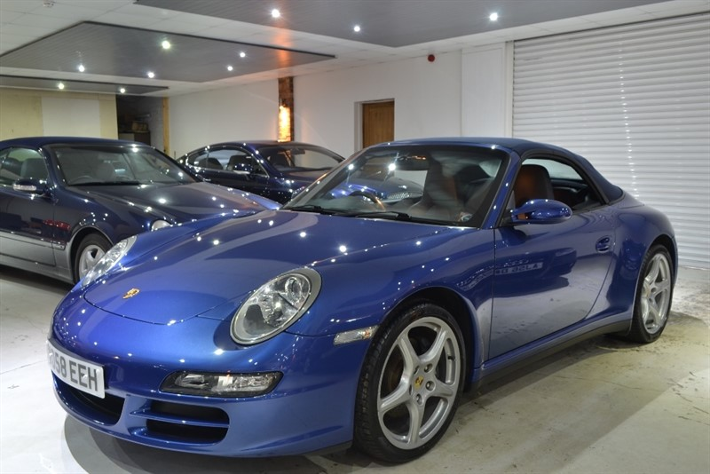 used Porsche 911 997 Carrera 4 Tiptronic S AWD 2dr in worcestershire