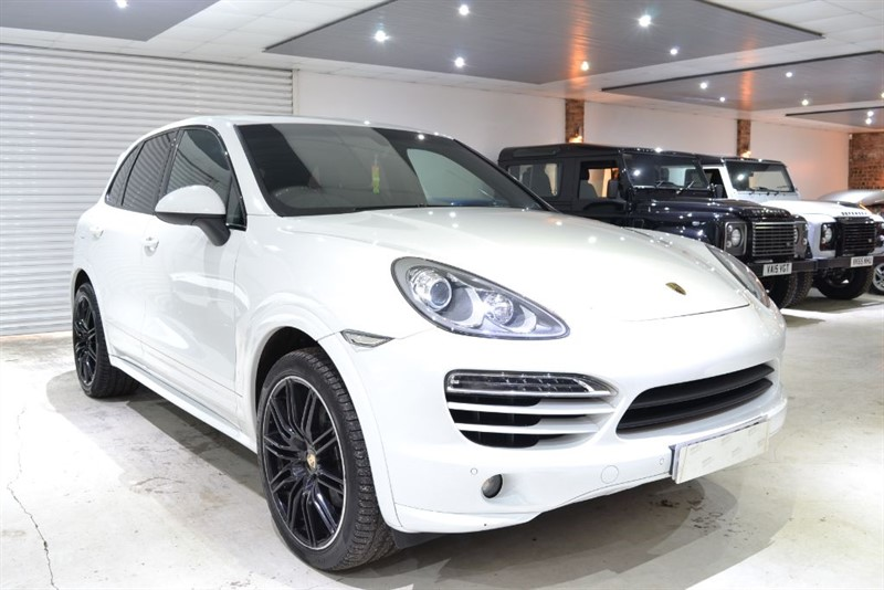 used Porsche Cayenne D V6 TIPTRONIC in worcestershire