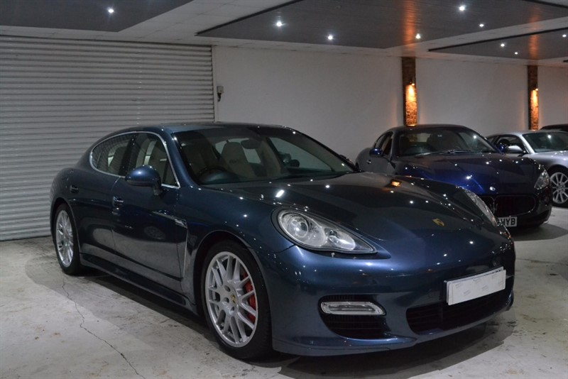 used Porsche Panamera TURBO PDK in worcestershire