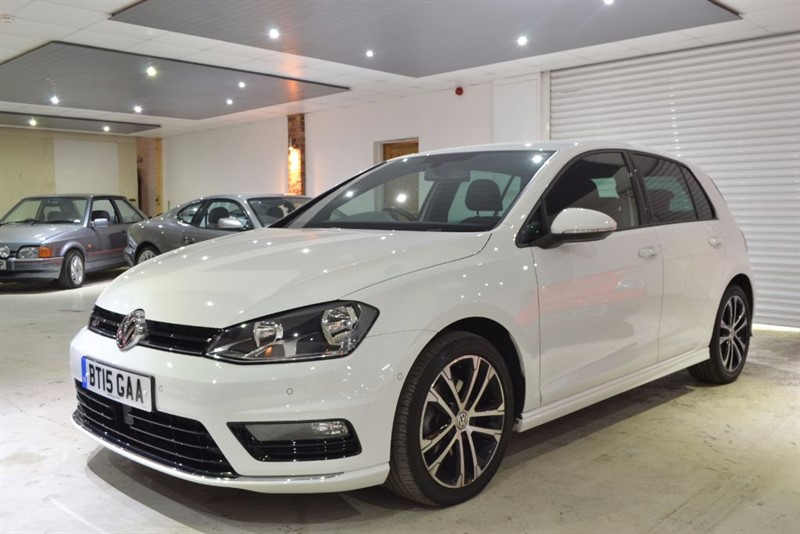 used VW Golf R-LINE TDI BLUEMOTION TECHNOLOGY DSG in worcestershire