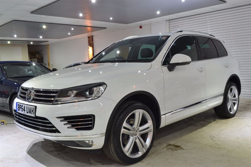 used VW Touareg V6 R-LINE TDI BLUEMOTION TECHNOLOGY in worcestershire